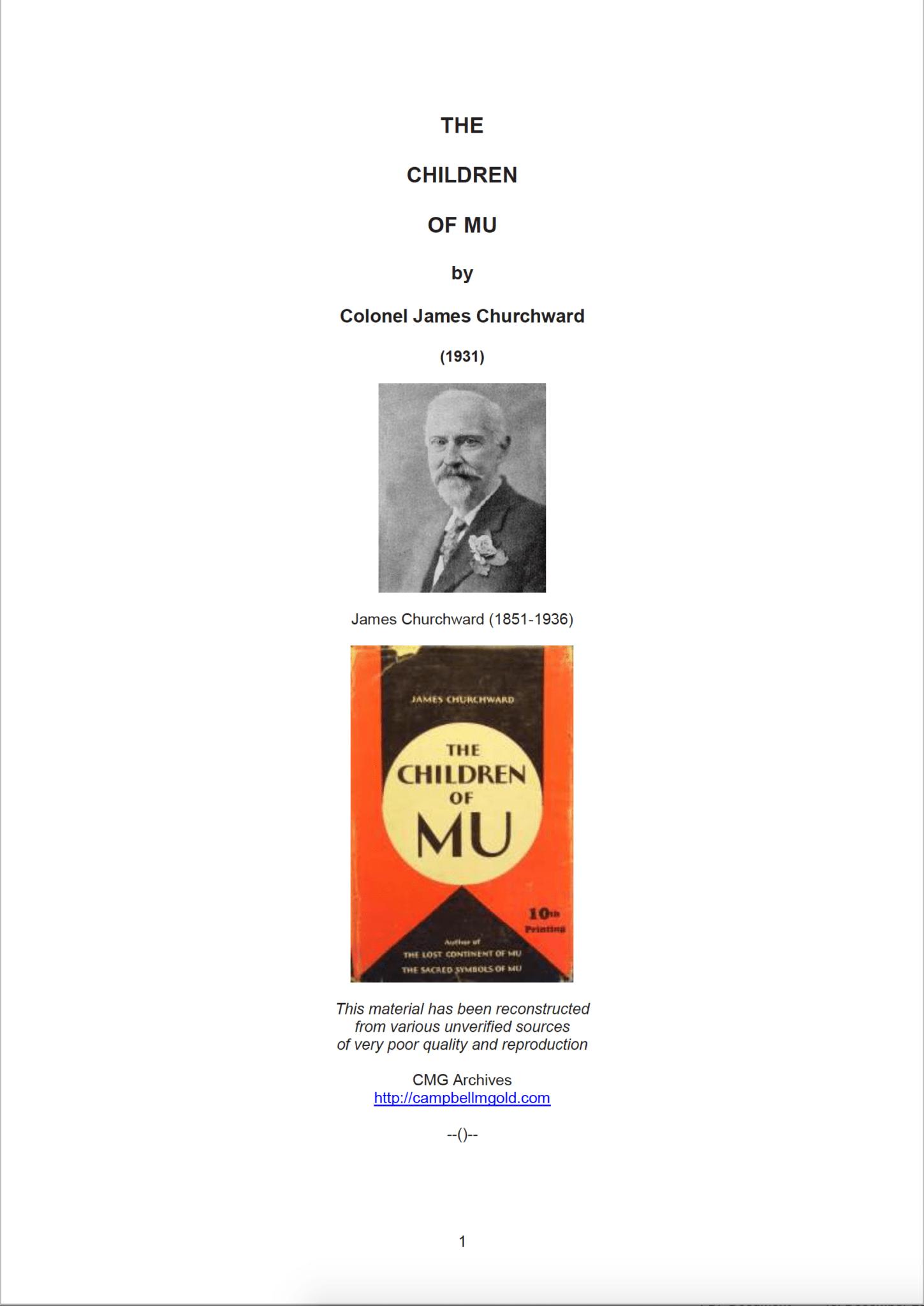 Screenshot 2020 02 09 at 15.26.08 - The Children of Mu -  James Churchward