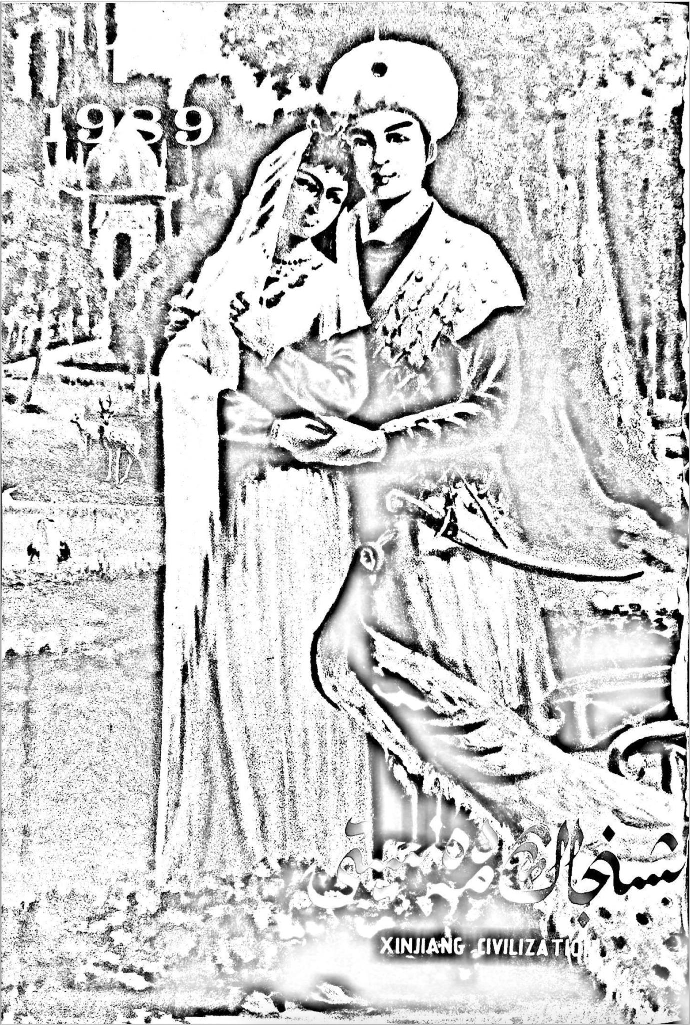 شىنجاڭ مەدەنىيىتى 1989-يىلى 1-سان, ئېلكىتاب تورى