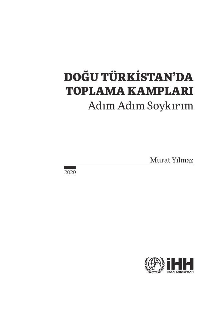Doğu Türkistan'da 'Adım Adım Soykırım', ئېلكىتاب تورى